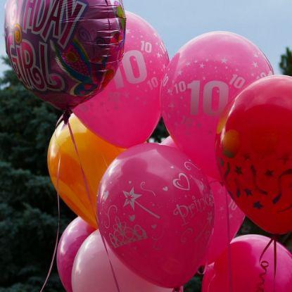 Colourfull Printed Balloons