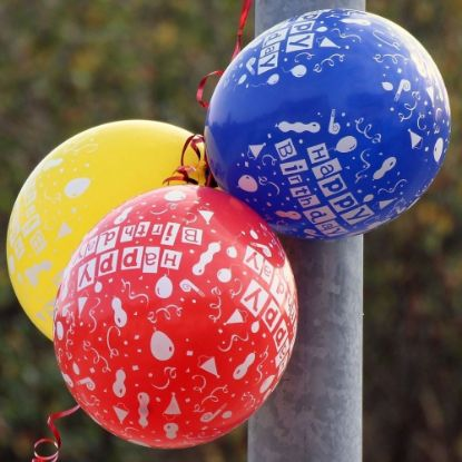 Printed Birthday Balloons