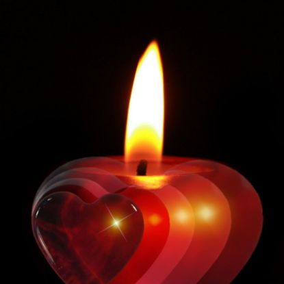 Heart Shape Candles