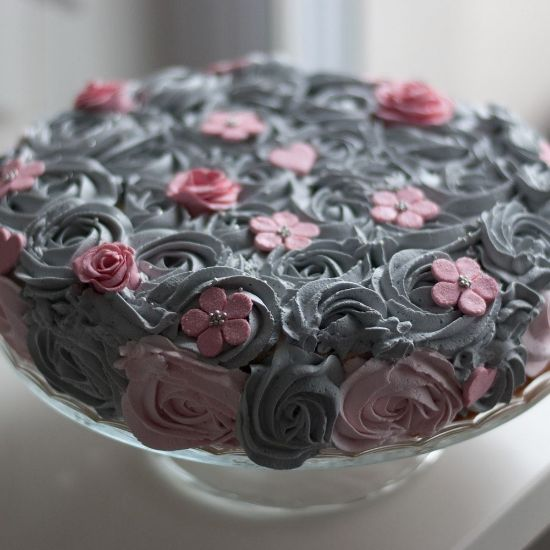 Blueberry Roses
