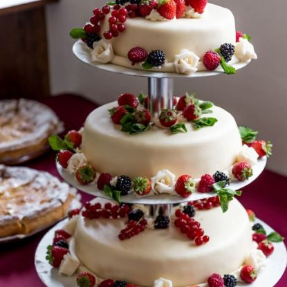 Layered Fruit Cake