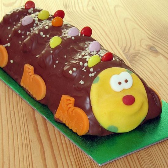 Children's Train Cake
