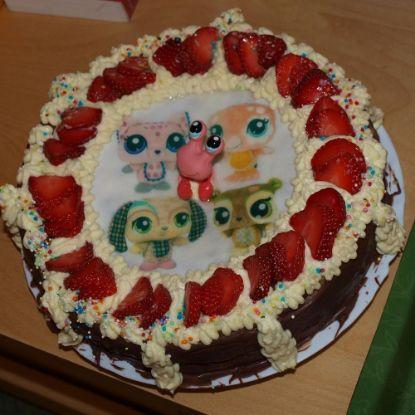 Chocolate Cartoon Cake
