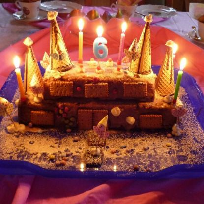 Chocolate Cassel Cake