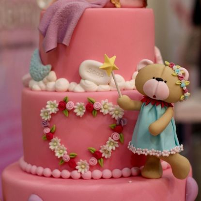Straberry Layered Cake