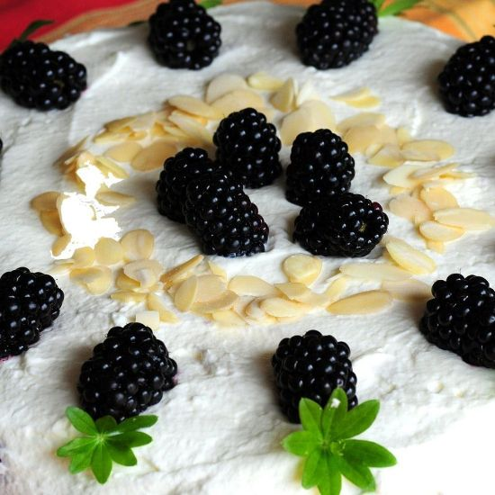 Blackberry Vanila Cake