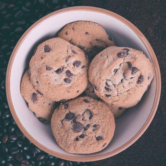Choco Coffee Cookies