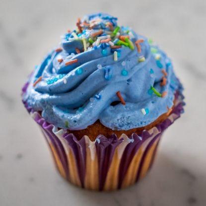 Blueberry Jumbo Cupcake