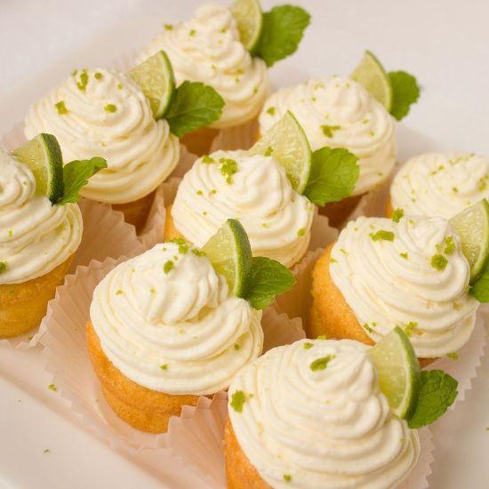 Lemon Cream Mini Cupcake