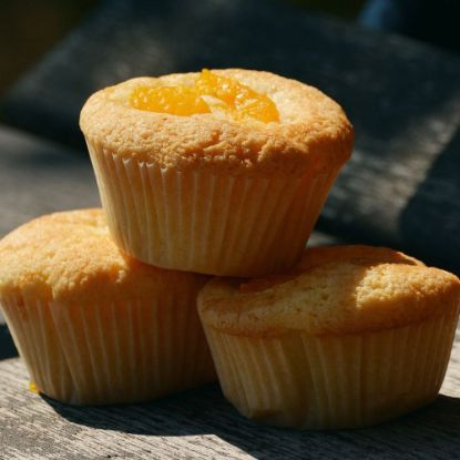 Vanila Orange Mini Cupcake